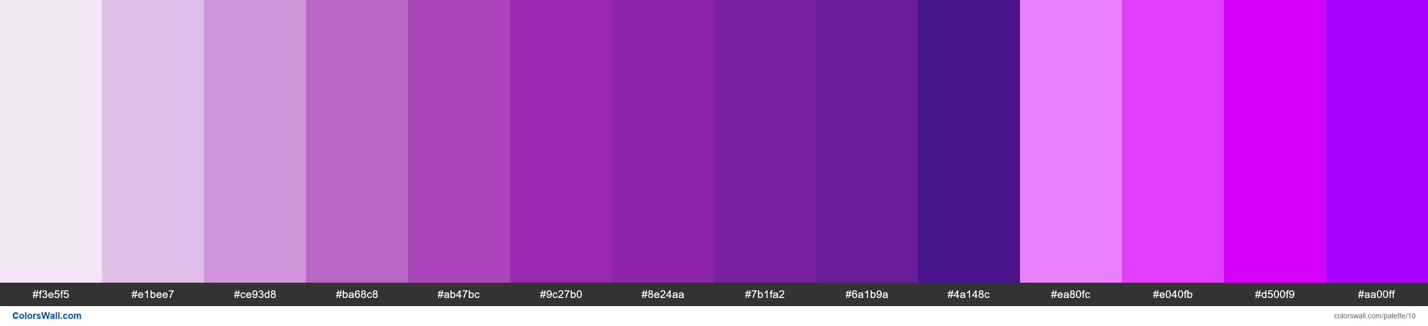 Purple palette Materialize CSS - #10