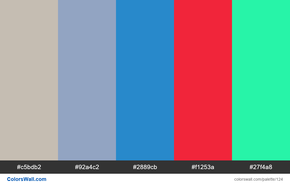 Random palette - #124