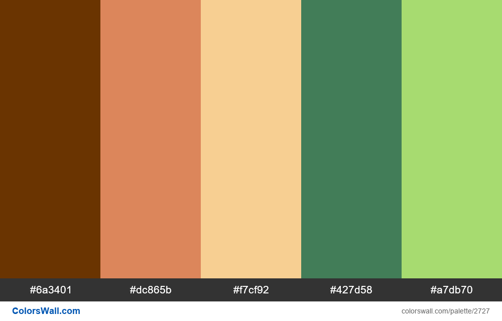 Random Palette Challenge #1 - #2727