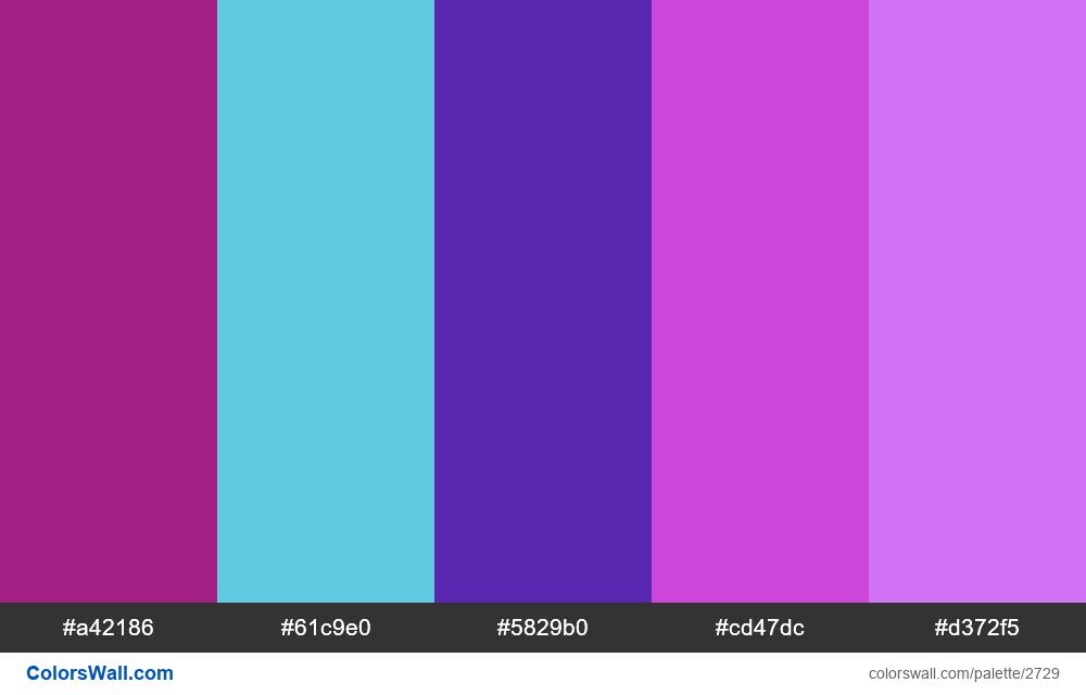 Random Palette Challenge #3 - #2729
