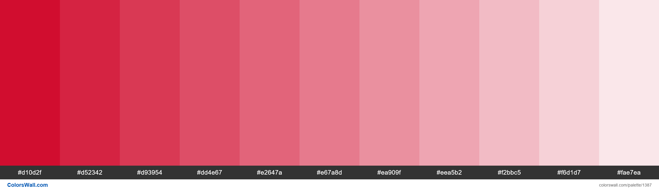 Red tints - #1387