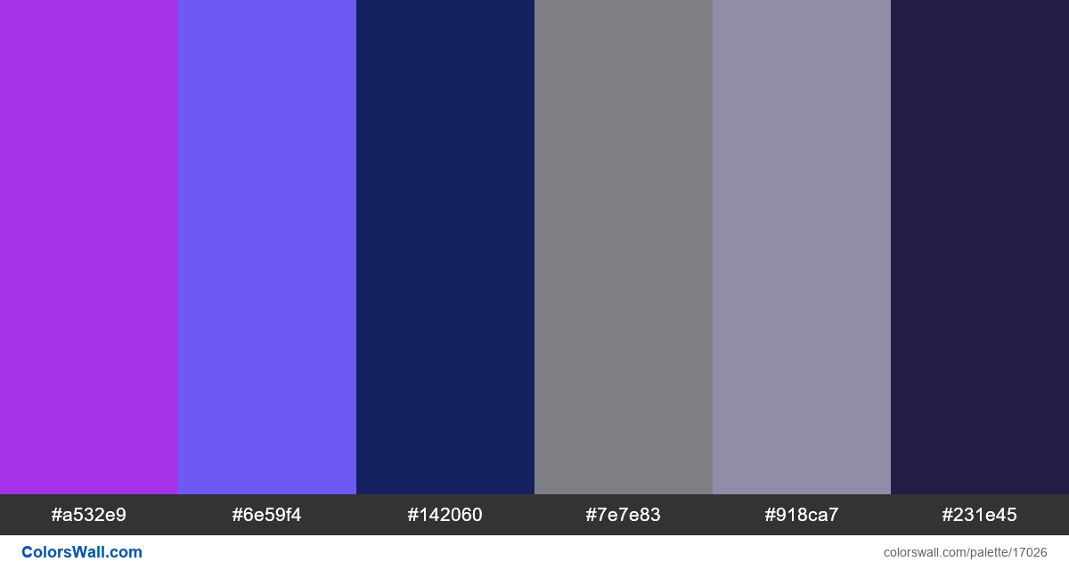 Redesign grid design website hex colors - #17026
