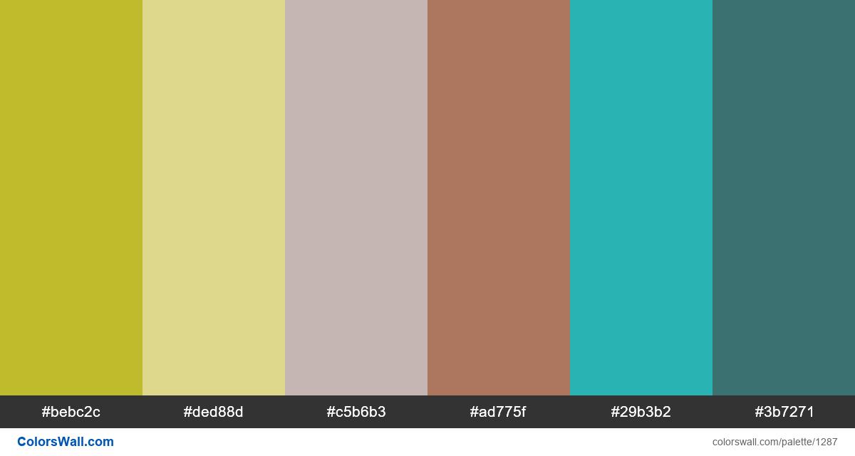 Room colors palette - #1287