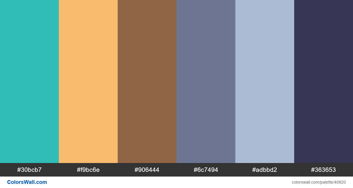 Schedules time ui design colors palette - #40820