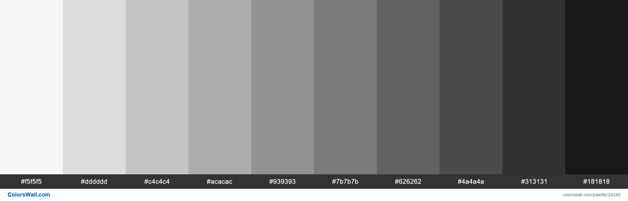 Shades Of White Smoke F5f5f5 Hex Color Hex Rgb Codes