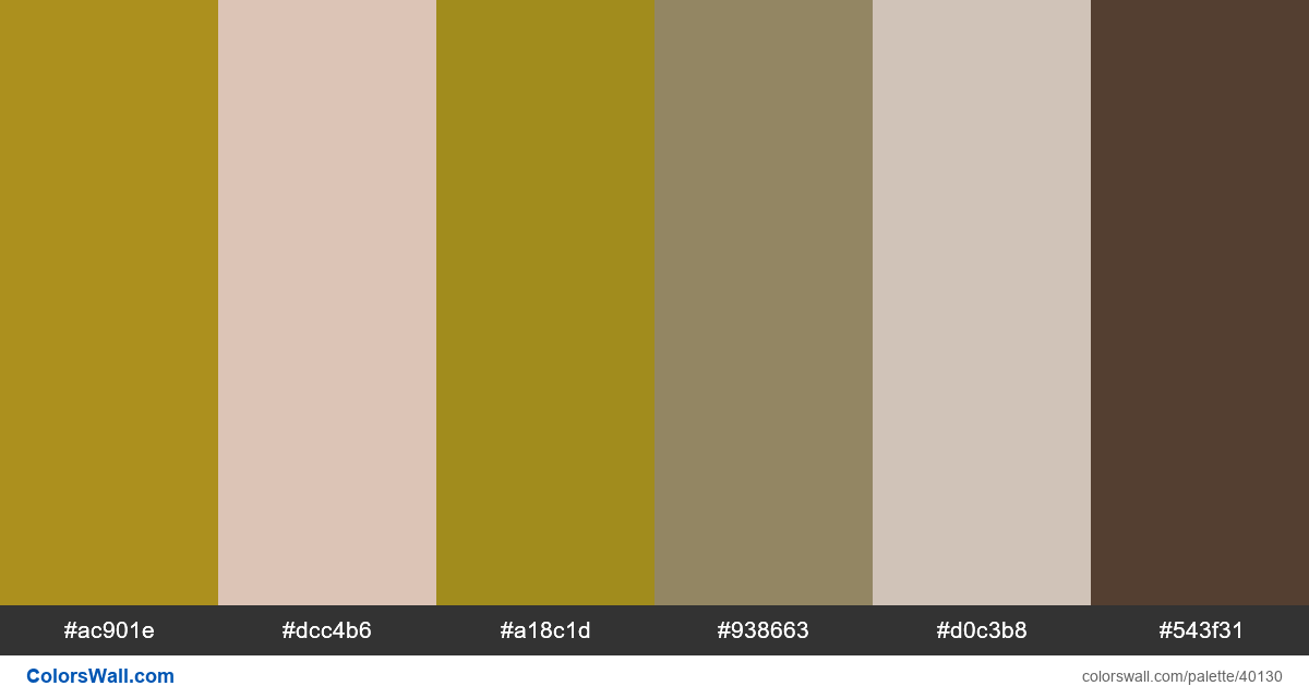 Shine professional business presentation template website colors palette - #40130