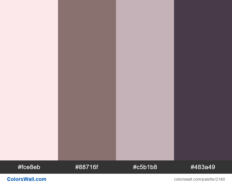 Smoke colors palette - #2180