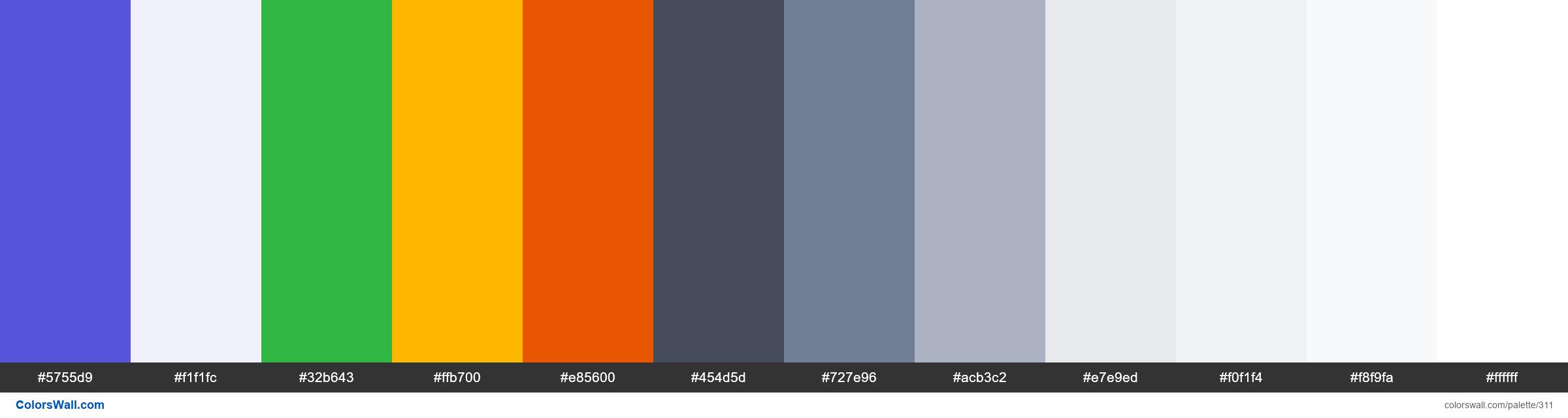 Spectre.css colors palette - #311