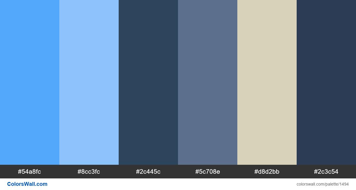Store website colors palette - #1494