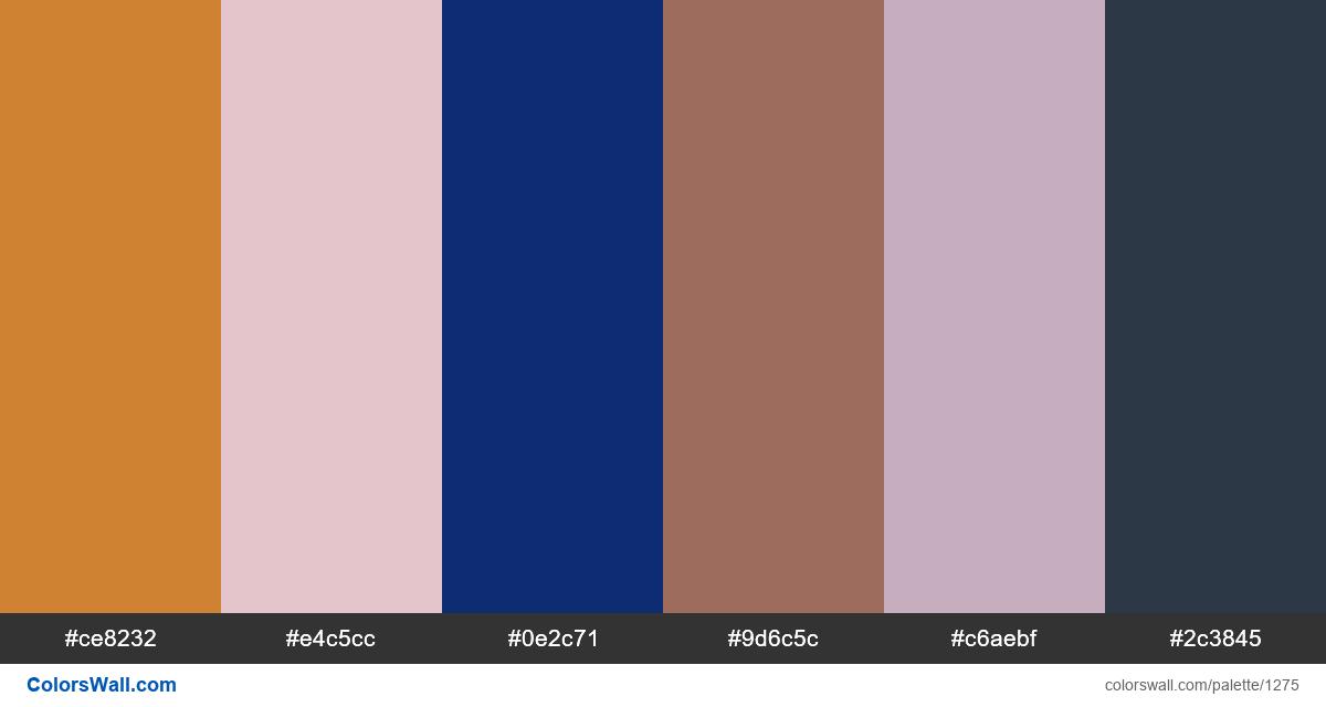 Sunset city color palette - #1275