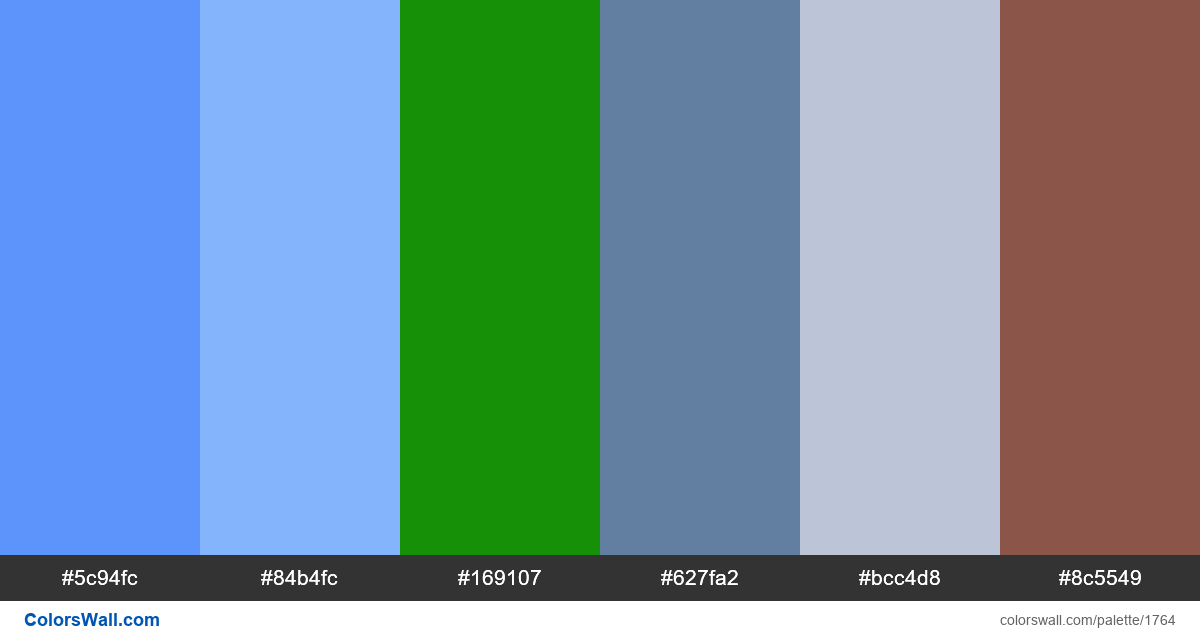 Super Mario NES colors palette - #1764
