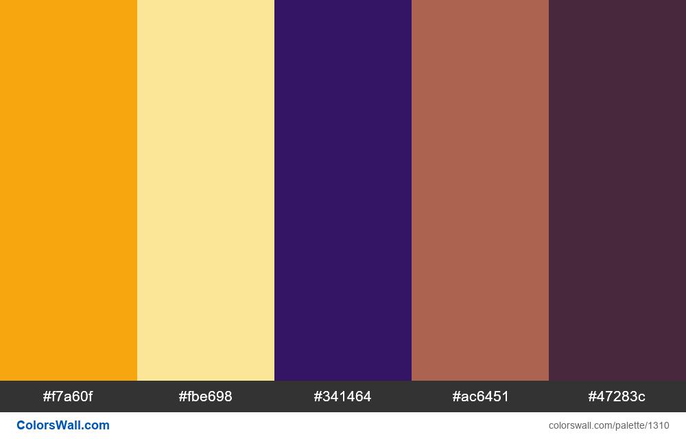 Tale cave colors palette - #1310