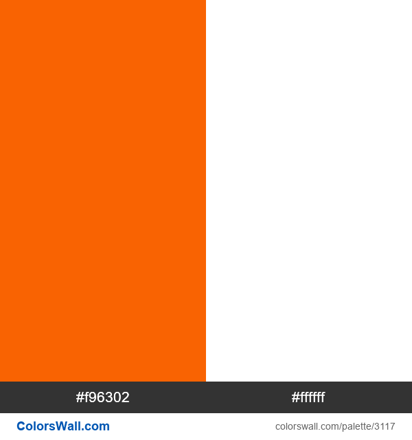 The Home Depot Logo HEX, RGB codes