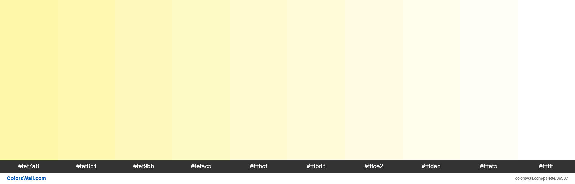 Tints XKCD Color buff #fef69e hex - #36337