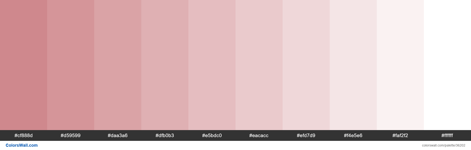 Tints XKCD Color dirty pink #ca7b80 hex - #36202