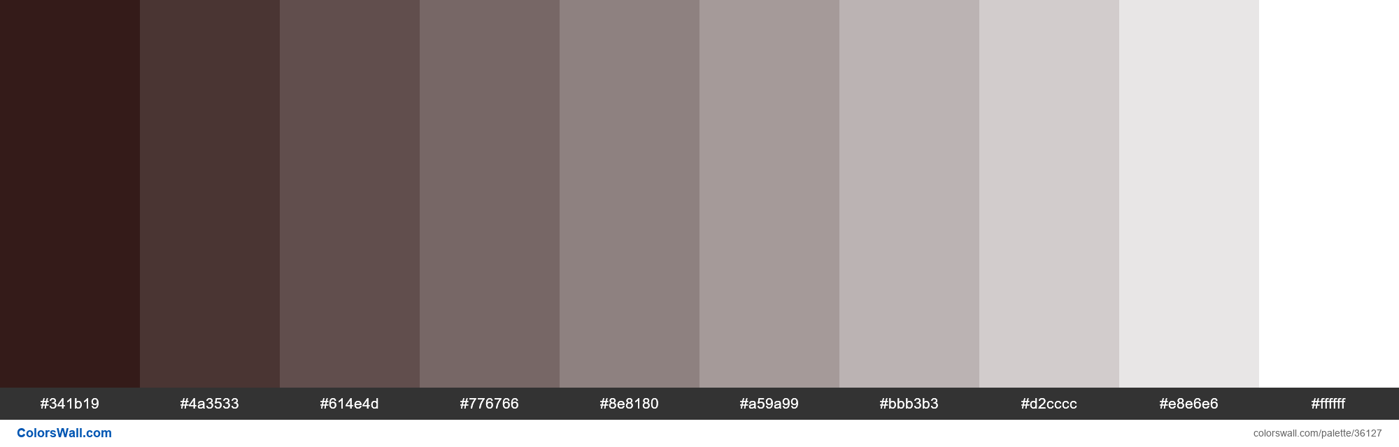 Tints XKCD Color very dark brown #1d0200 hex - #36127