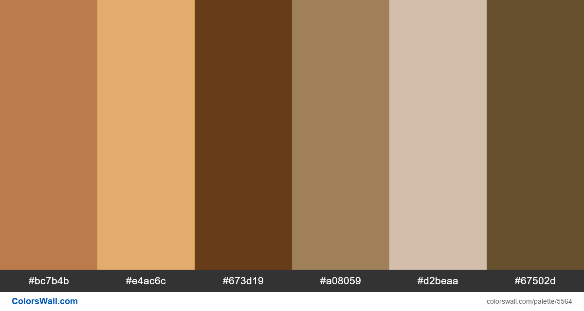 Title grid jewelry colors palette - #5564