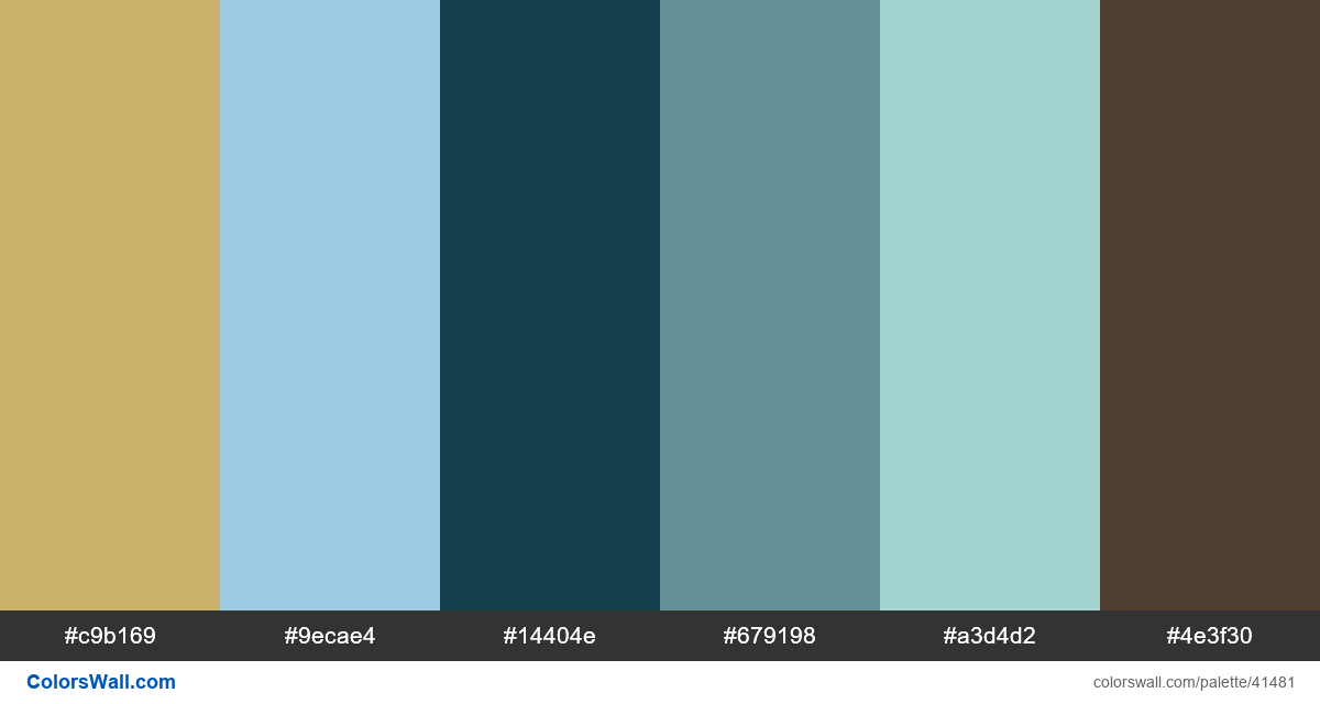 Travel trip app mobile palette - #41481