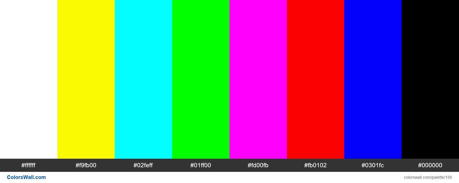 TV no signal color bars - #150