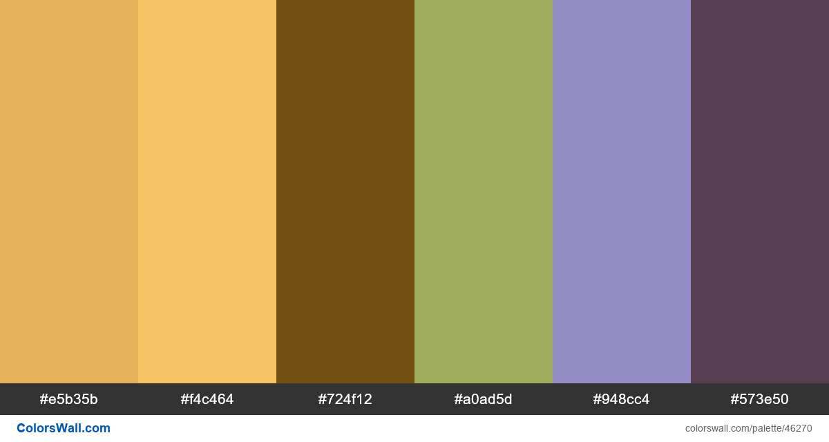 Typography type 36 days of illustration colors palette - #46270