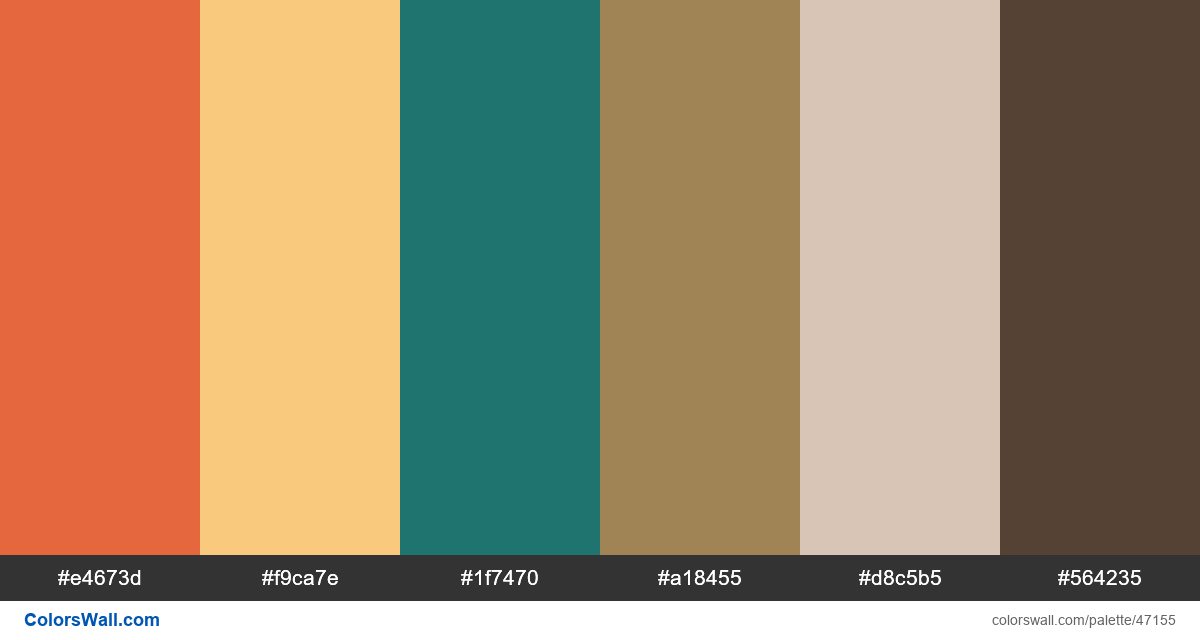 Typography wellness interior design poster colors palette - #47155