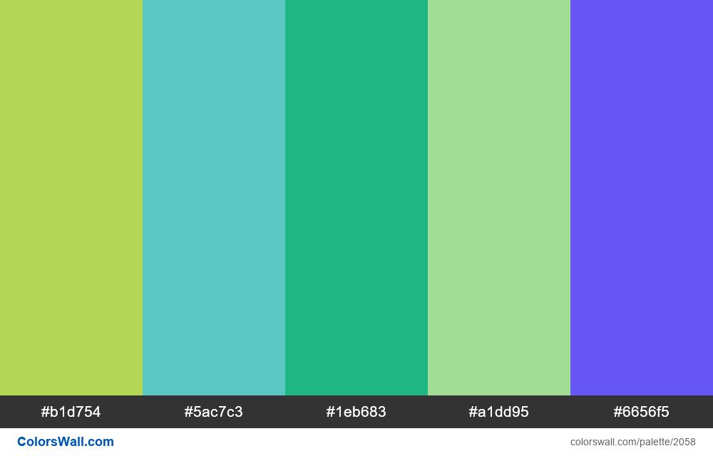 UI component Chart colors #4 - #2058
