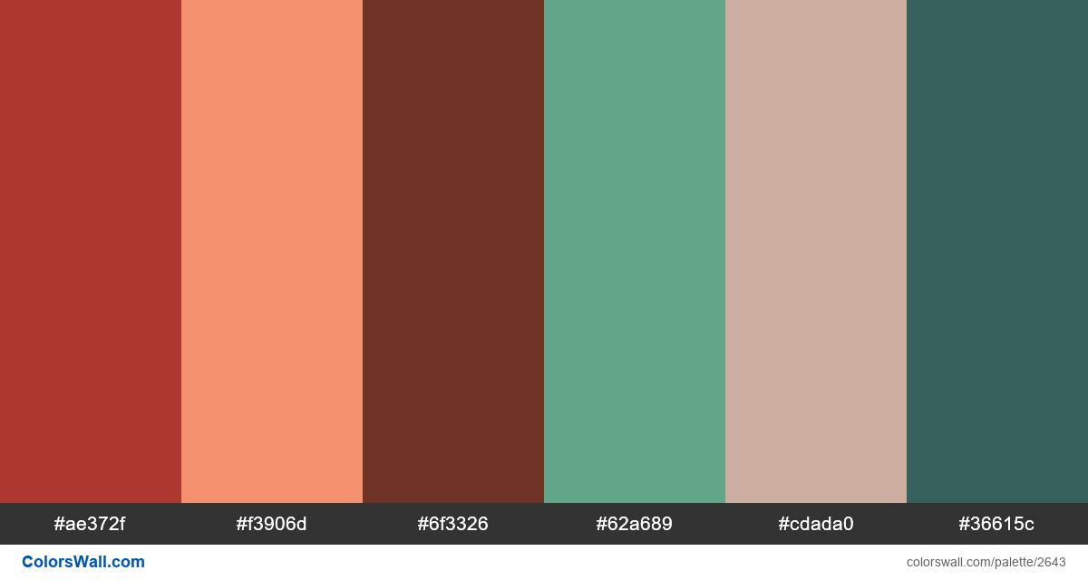 UIkit colors palette - #2643