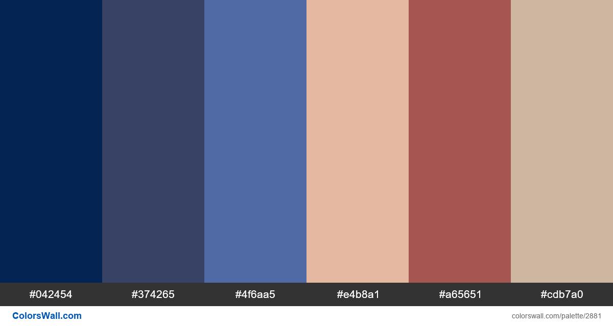 UI/UX Media & Entertainment app colors palette - #2881