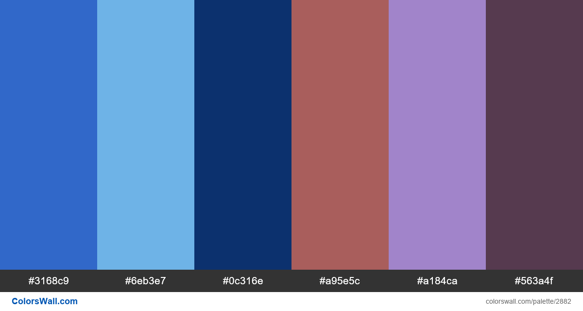 UI/UX Media & Entertainment app dashboard colors palette - #2882
