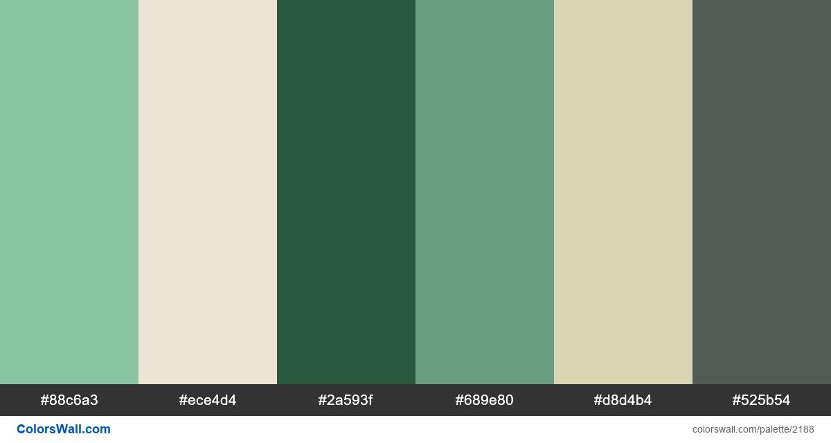US dollar colors scheme - #2188