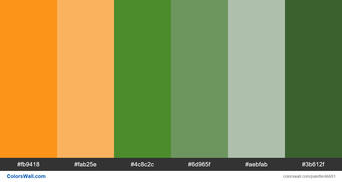 Ux location map green palette - #46691
