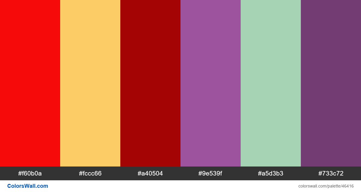 Vector colors - #46416