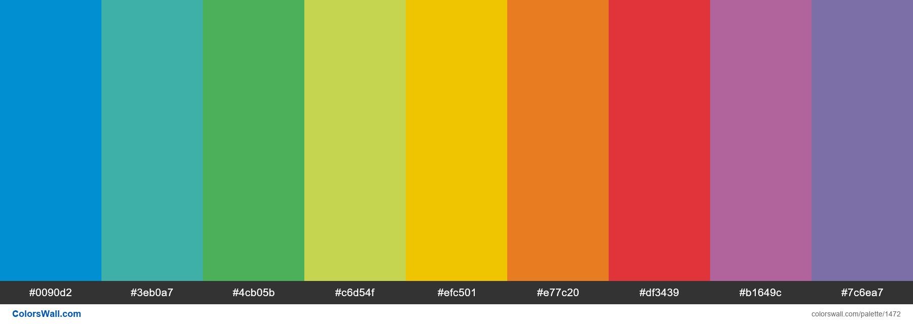 Vineyard USA Primary Palette - #1472