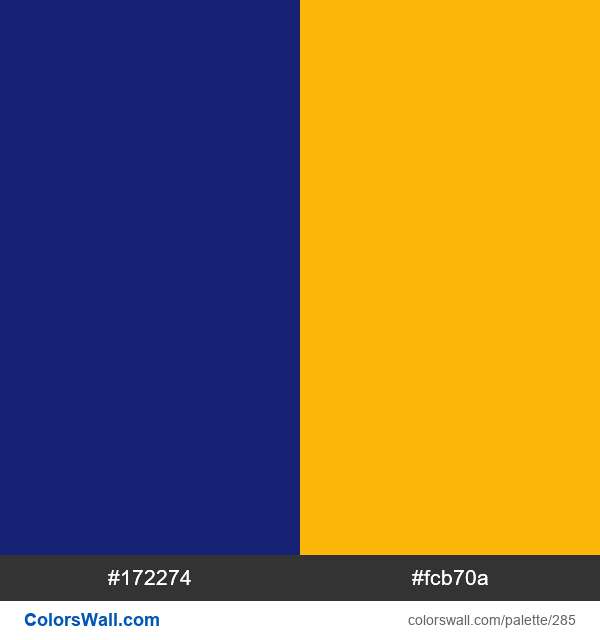 Visa logo colors - #285