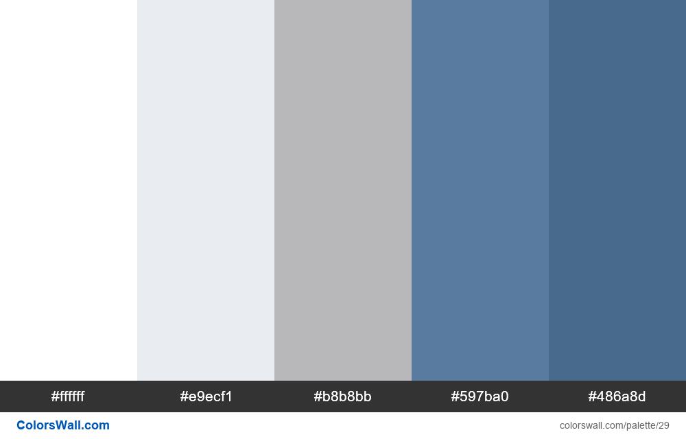 Vkontakte Colors palette - #29