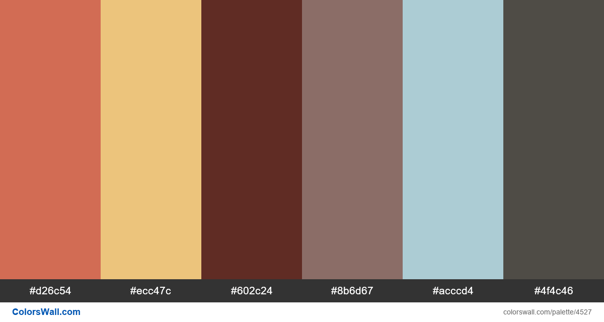 Web design daily colors palette 1277 - #4527