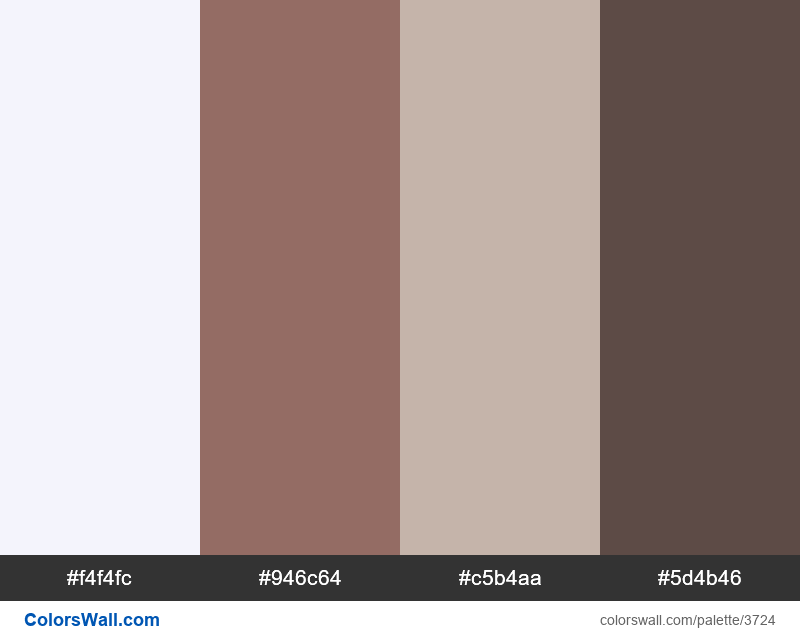 Web design daily colors palette 702 - #3724