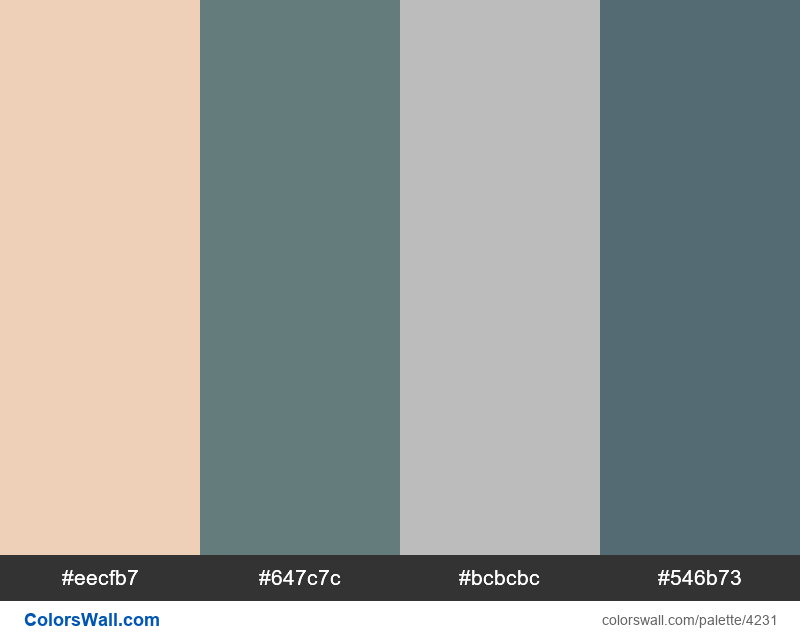 Web design daily colors palette 993 - #4231