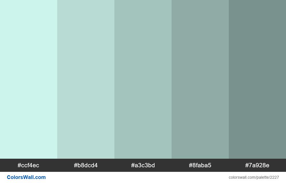 WEB tints scheme 2018 - #2227