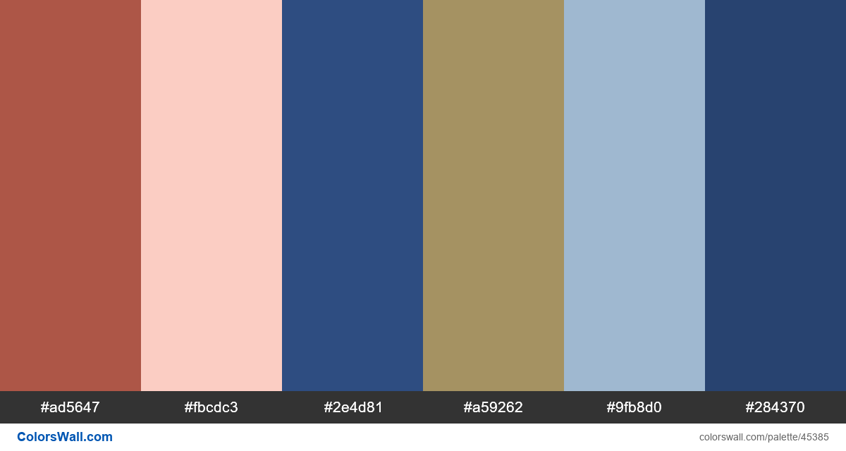 Webapp result dashboard cards colors palette - #45385