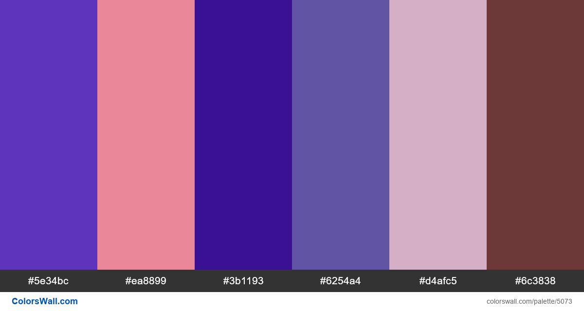 Website business accessories colors palette - #5073