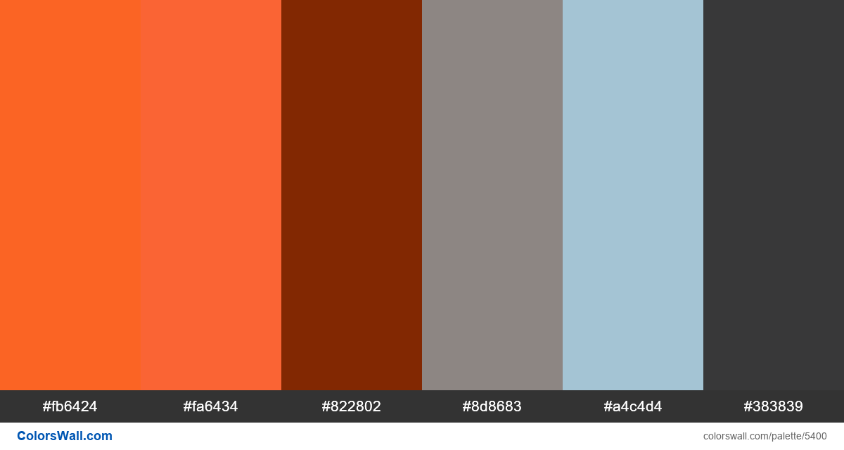 Website flat ui colors palette - #5400