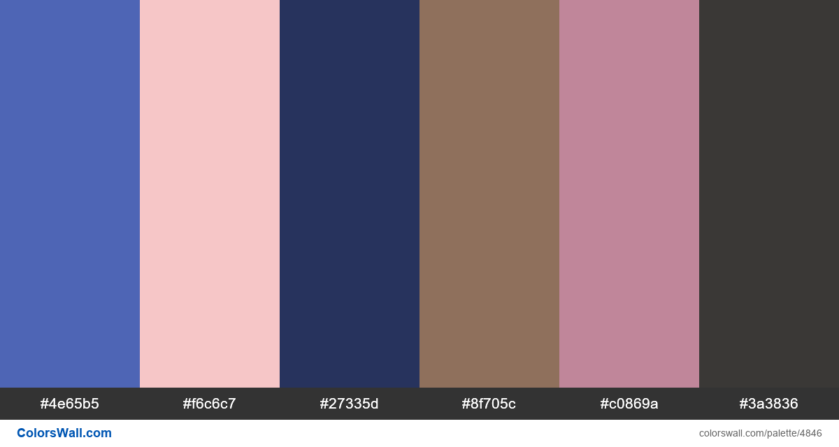 Website landingpage ux colors palette - #4846