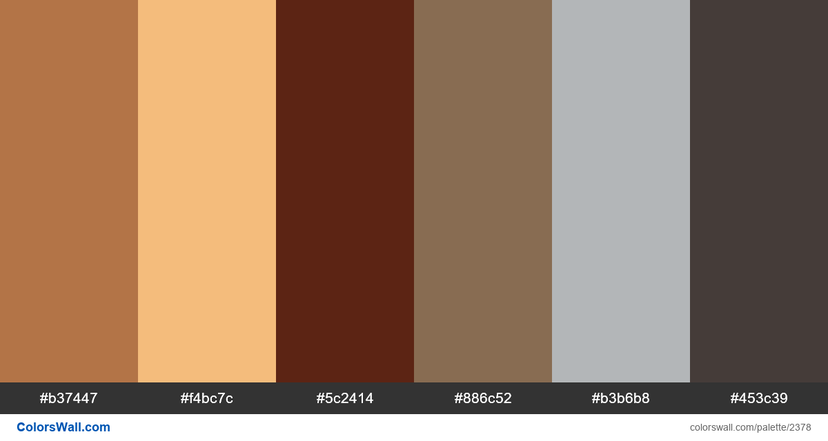 Wood works colors scheme - #2378