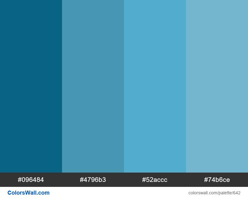 Wordpress Admin Color Scheme Blue - #642