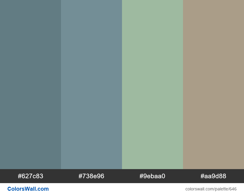 Wordpress Admin Color Scheme Ocean - #646