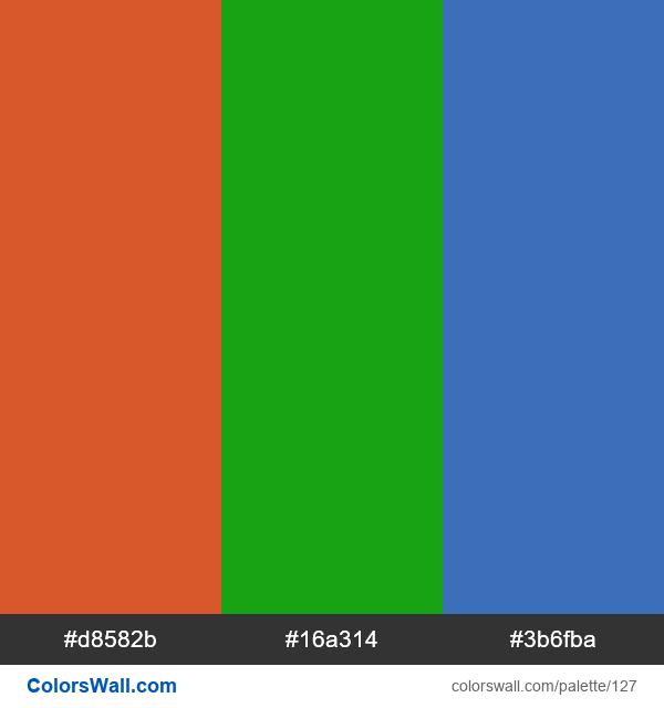 Yii Framework color palette - #127